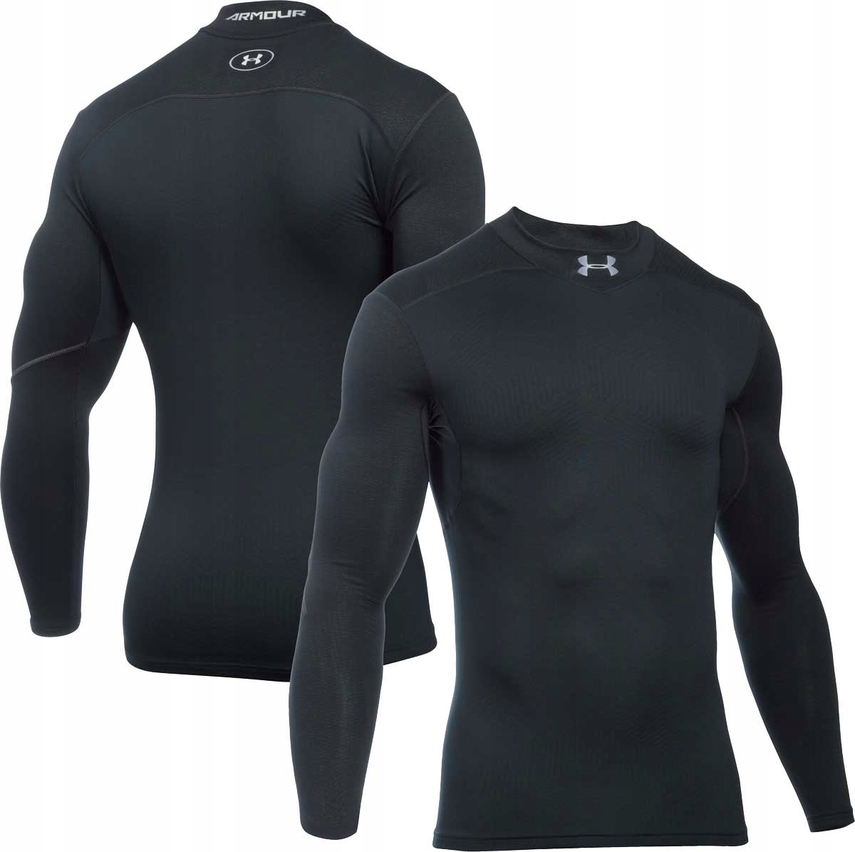 UNDER ARMOUR COLDGEAR MOCK koszulka męska - S -