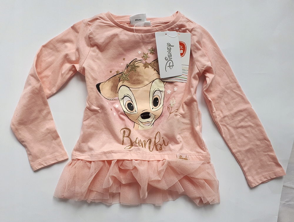 Bluzka Bambi z tiulem DISNEY R.104