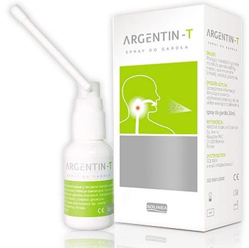 Argentin-T spray do gardła 20ml