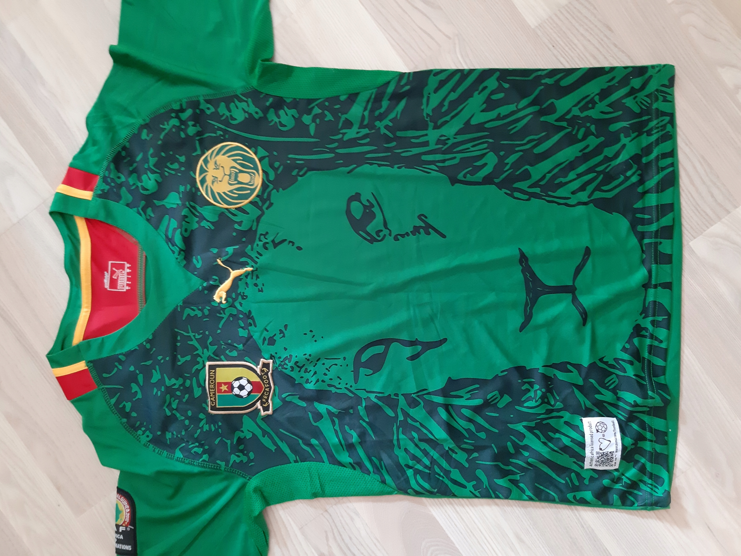 Koszulka Puma Kamerun Eto puchar narodów rozmiar L