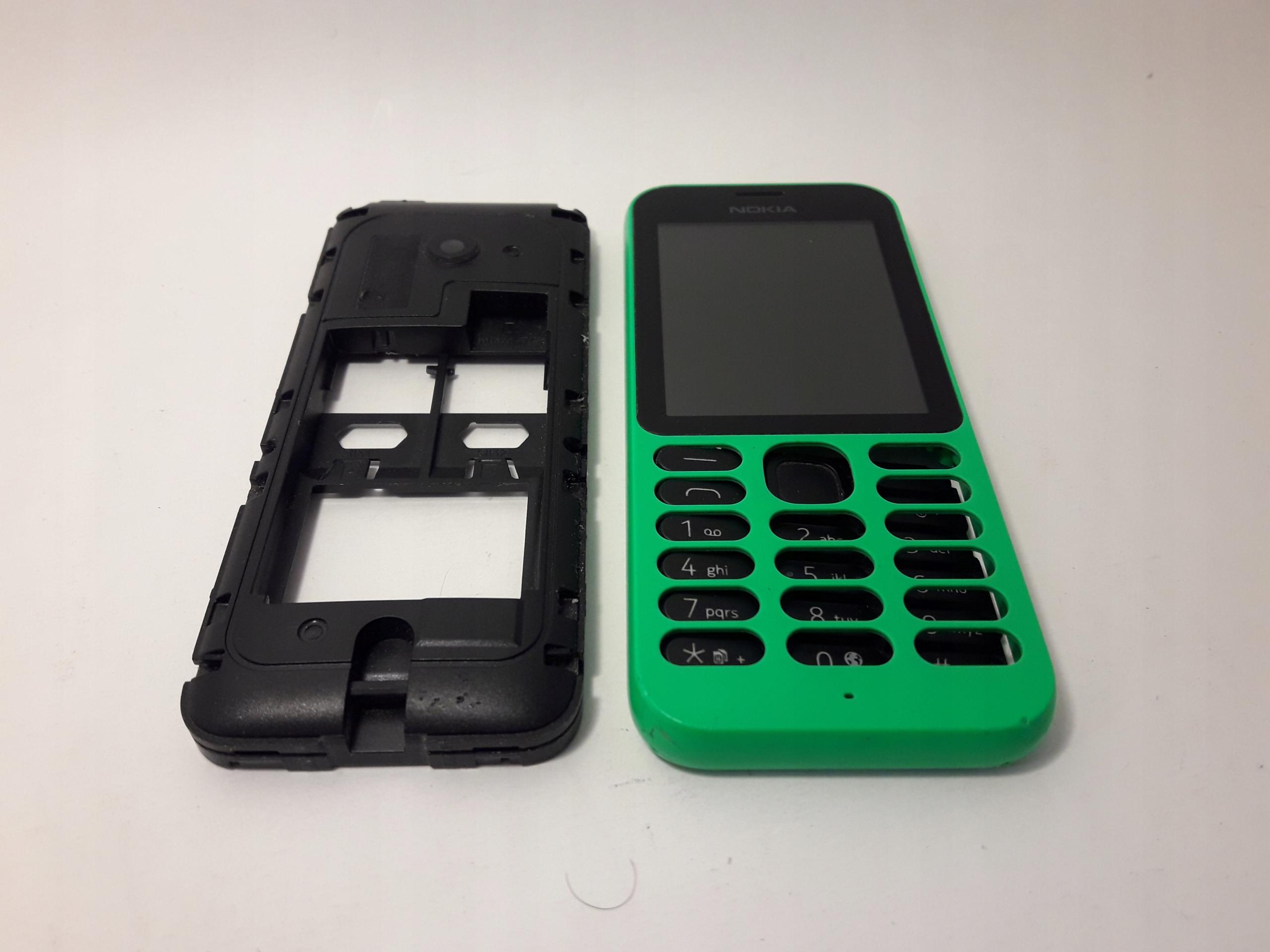 Nokia 215 RM-1110 wyświetlacz obudowa klawiatura