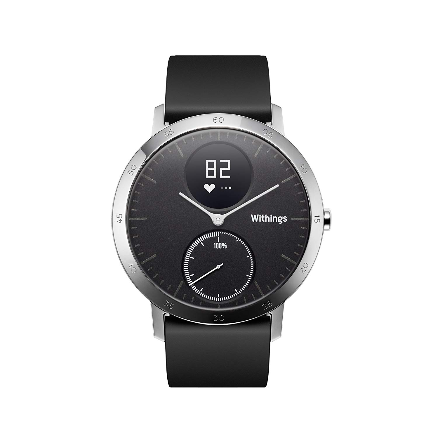 Hybrydowy smartwatch Withings Steel HR 36mm