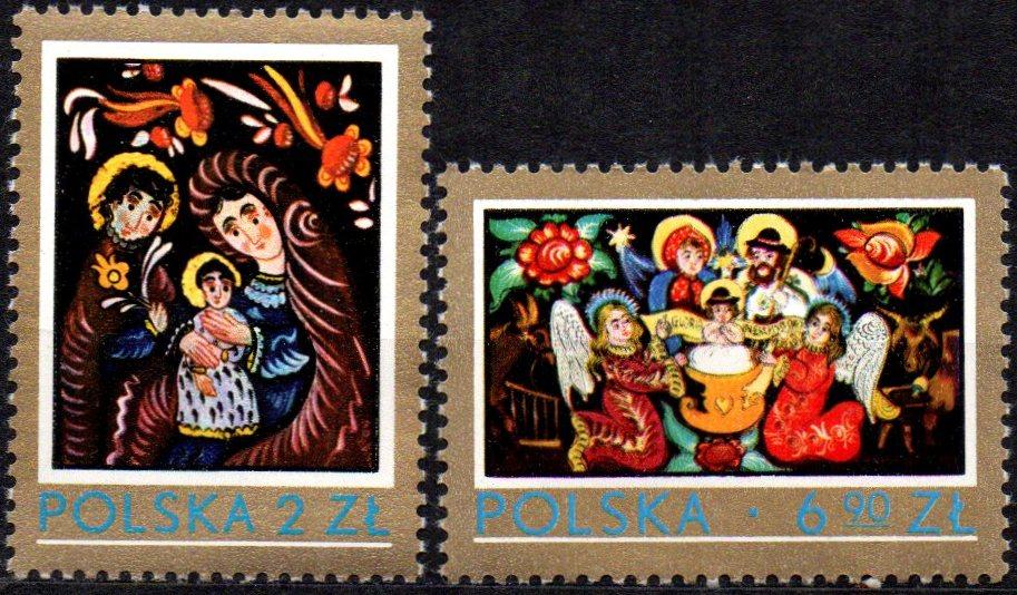 POLSKA Fi. 2509-2510** Polskie malarstwo 1979r.