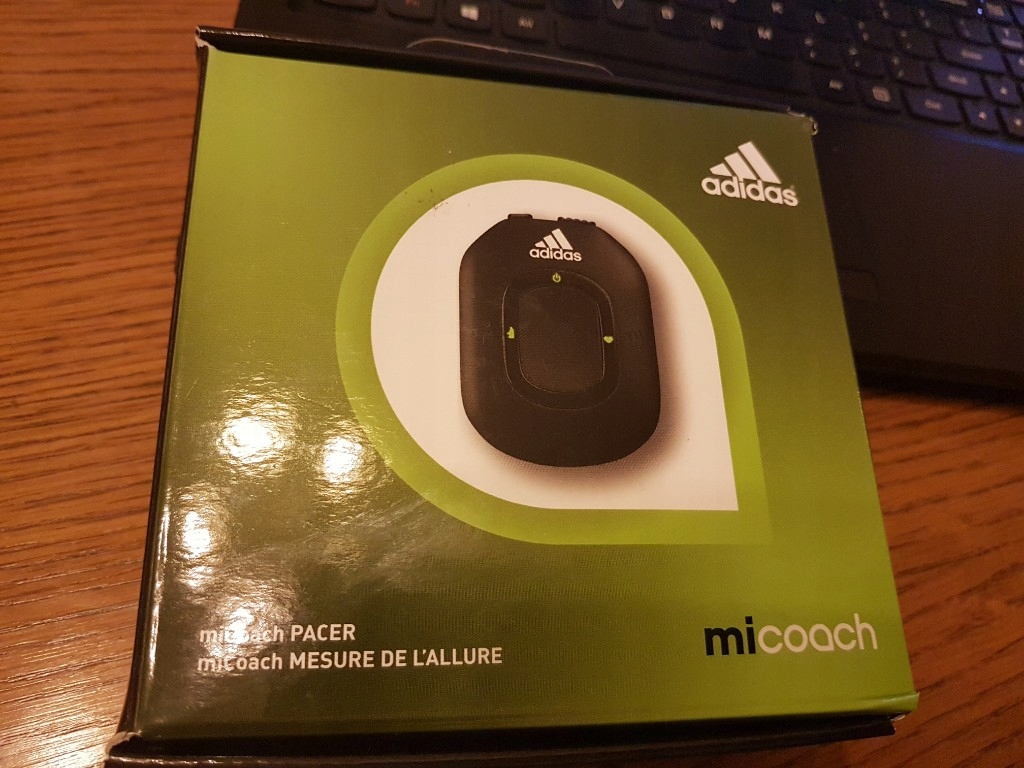 Adidas micoach Pacer nowy bez pasa HR