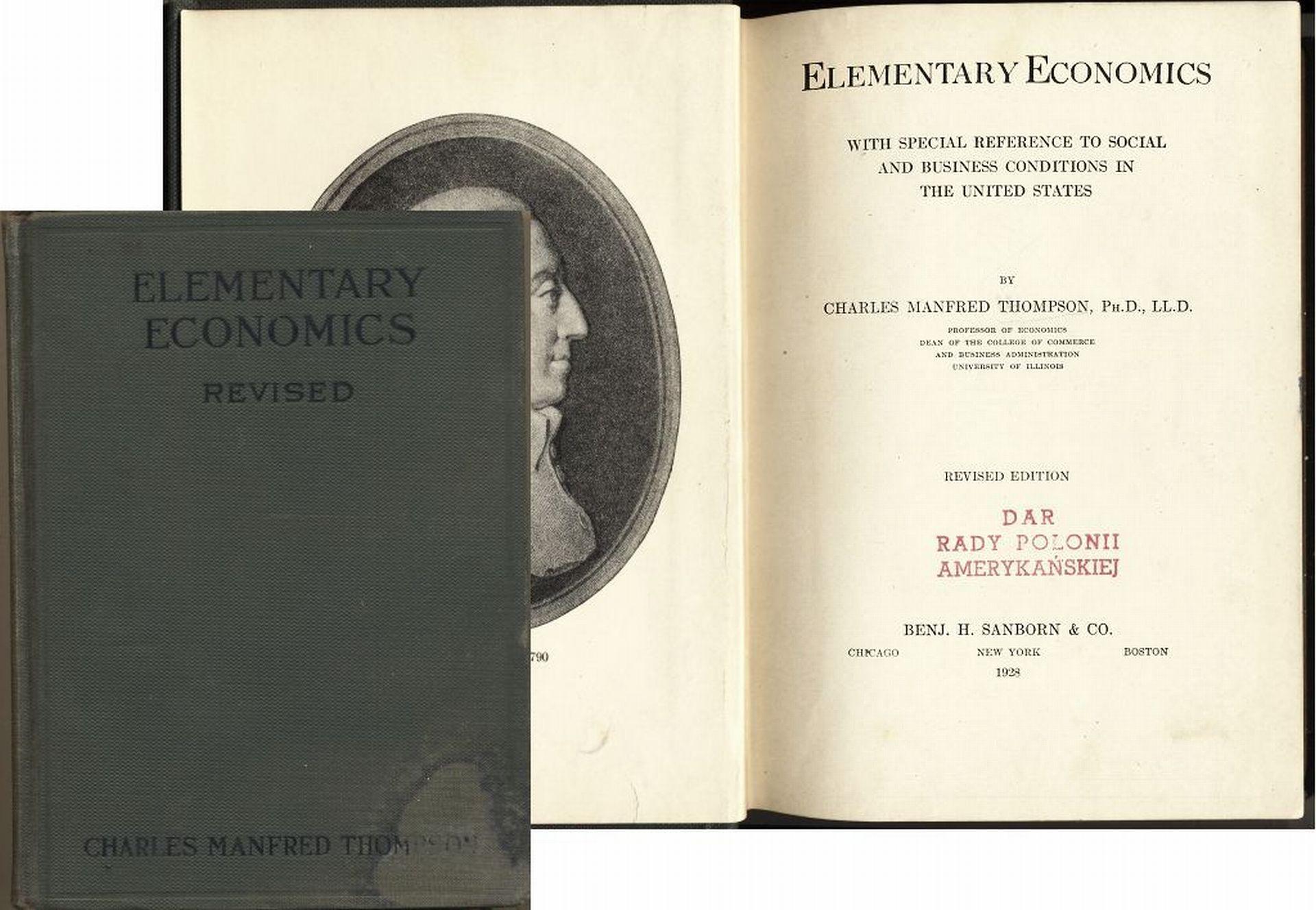 Elementary 1928 Elementarne Zagadnienia Ekonomii