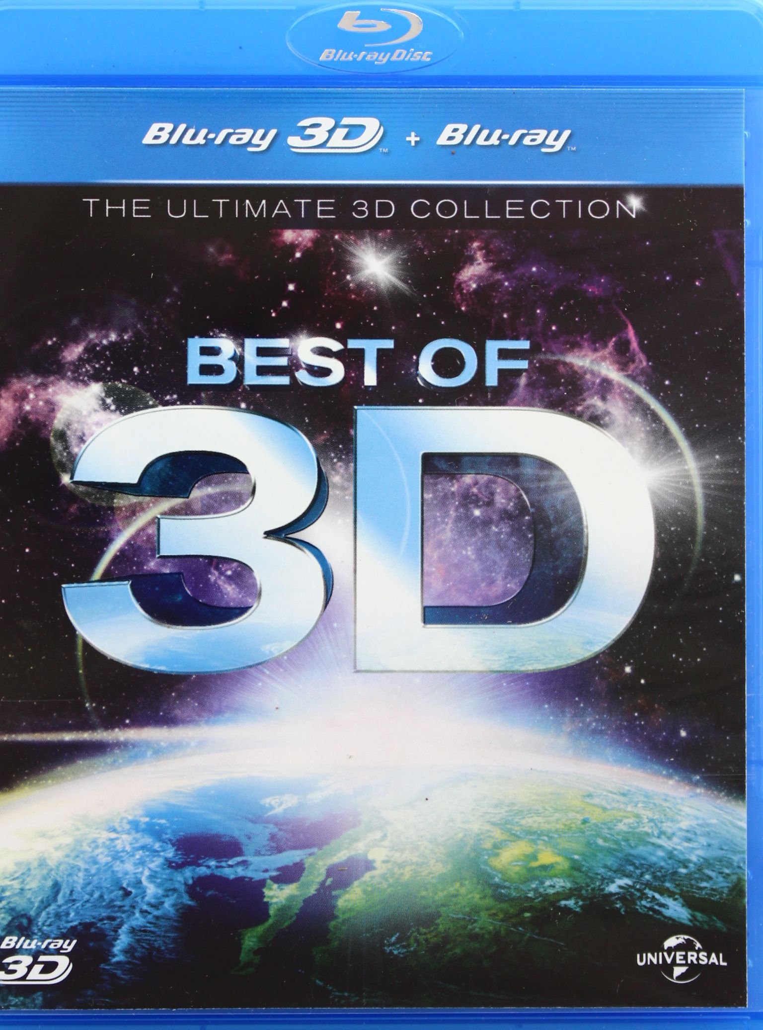THE BEST OF 3D [BLU-RAY 3D]