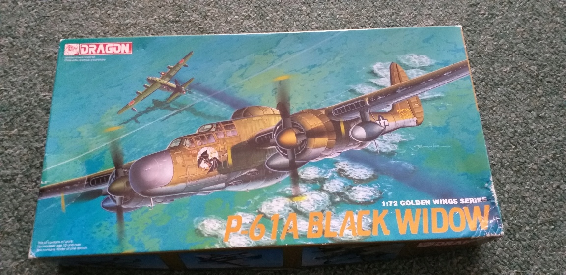 Dragon P-61Black Widow Dragon 1:72 Golden wings
