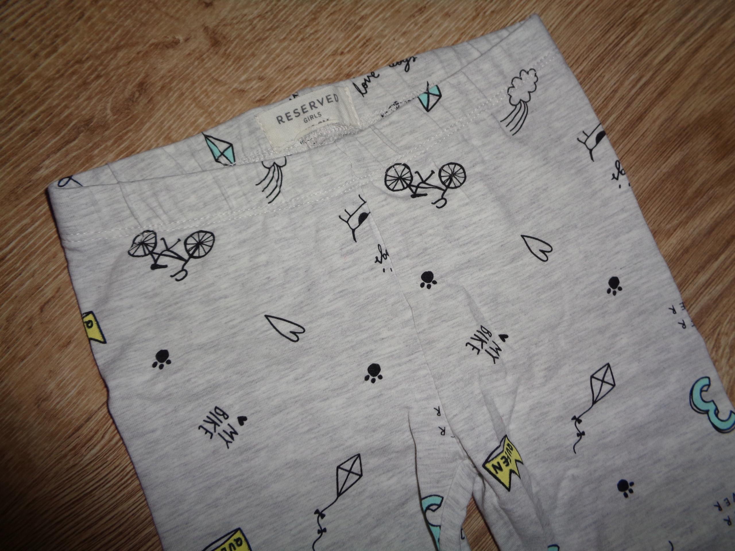 Spodnie legginsy Reserved 116 NOWE!!!