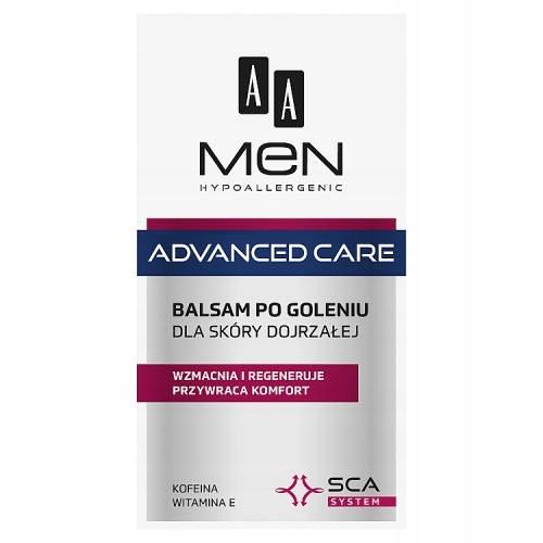 AA Men advanced care balsam po goleniu 100ml skóra