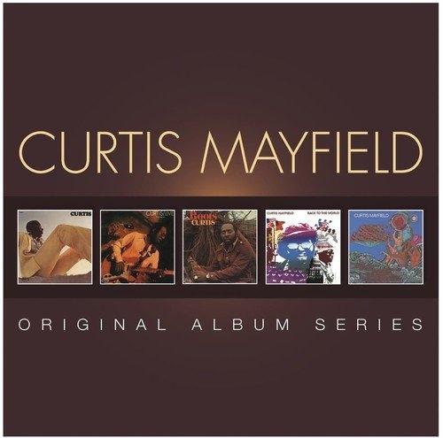 CURTIS MAYFIELD ORIGINAL ALBUM SERIES 5CD BOX SET