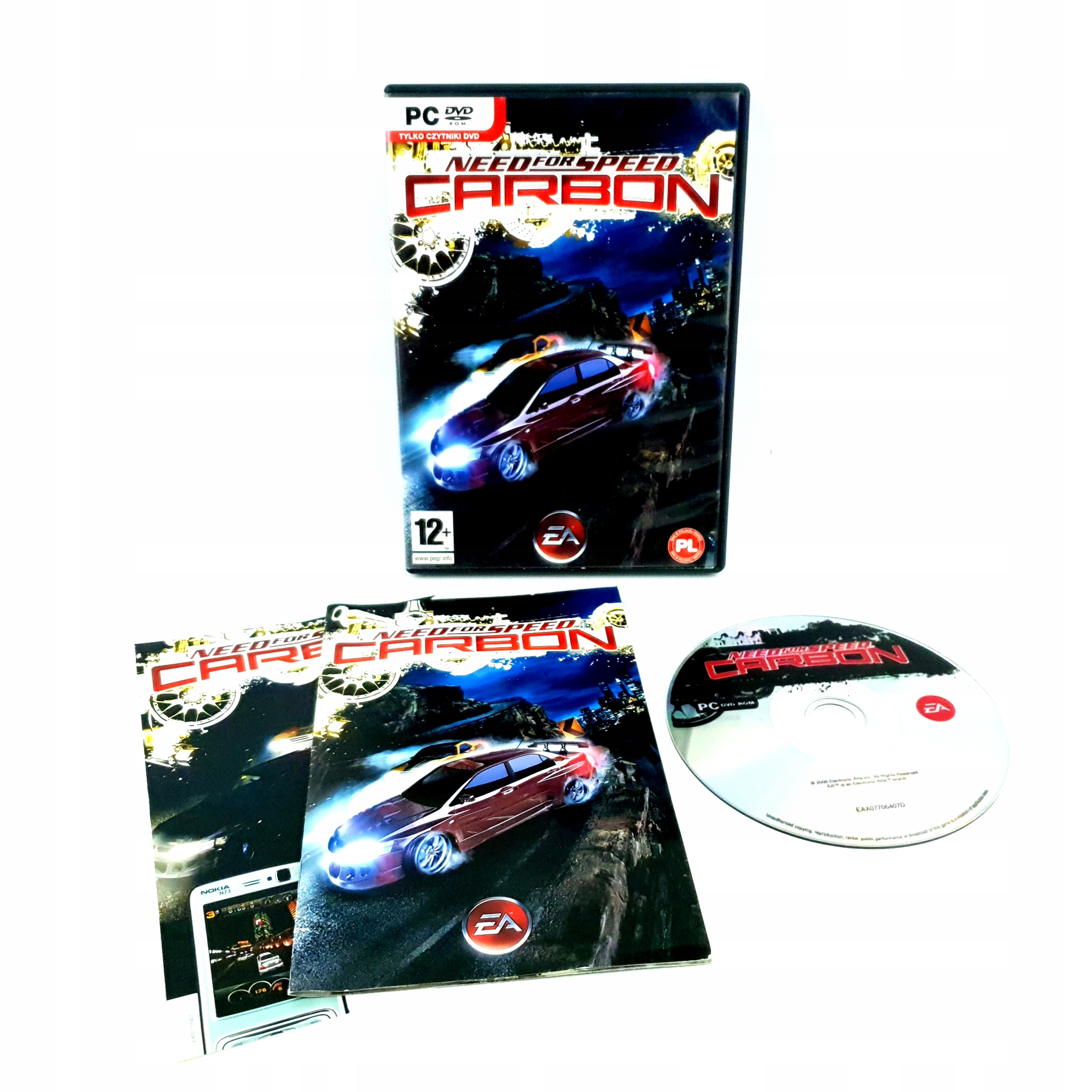 IDEAŁ 6-/6 NEED FOR SPEED CARBON NFS PC POLSKIE PL