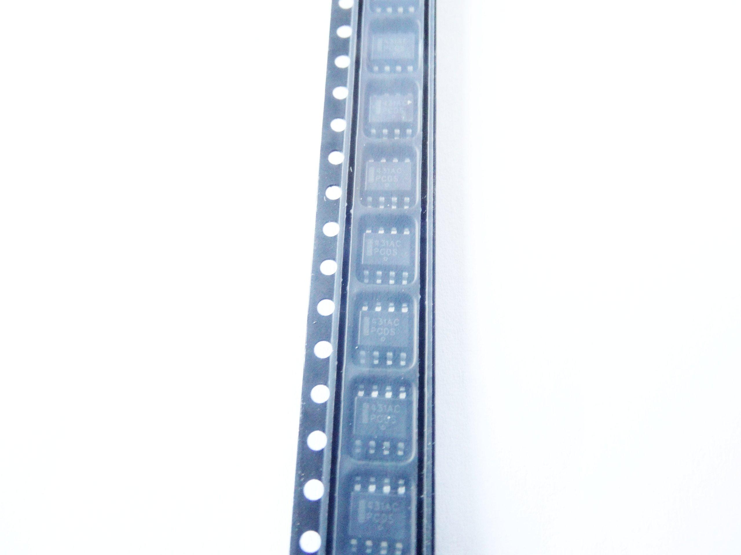 TL431ACD - źródło napięcia TL431 2,495V SO8 5 szt.