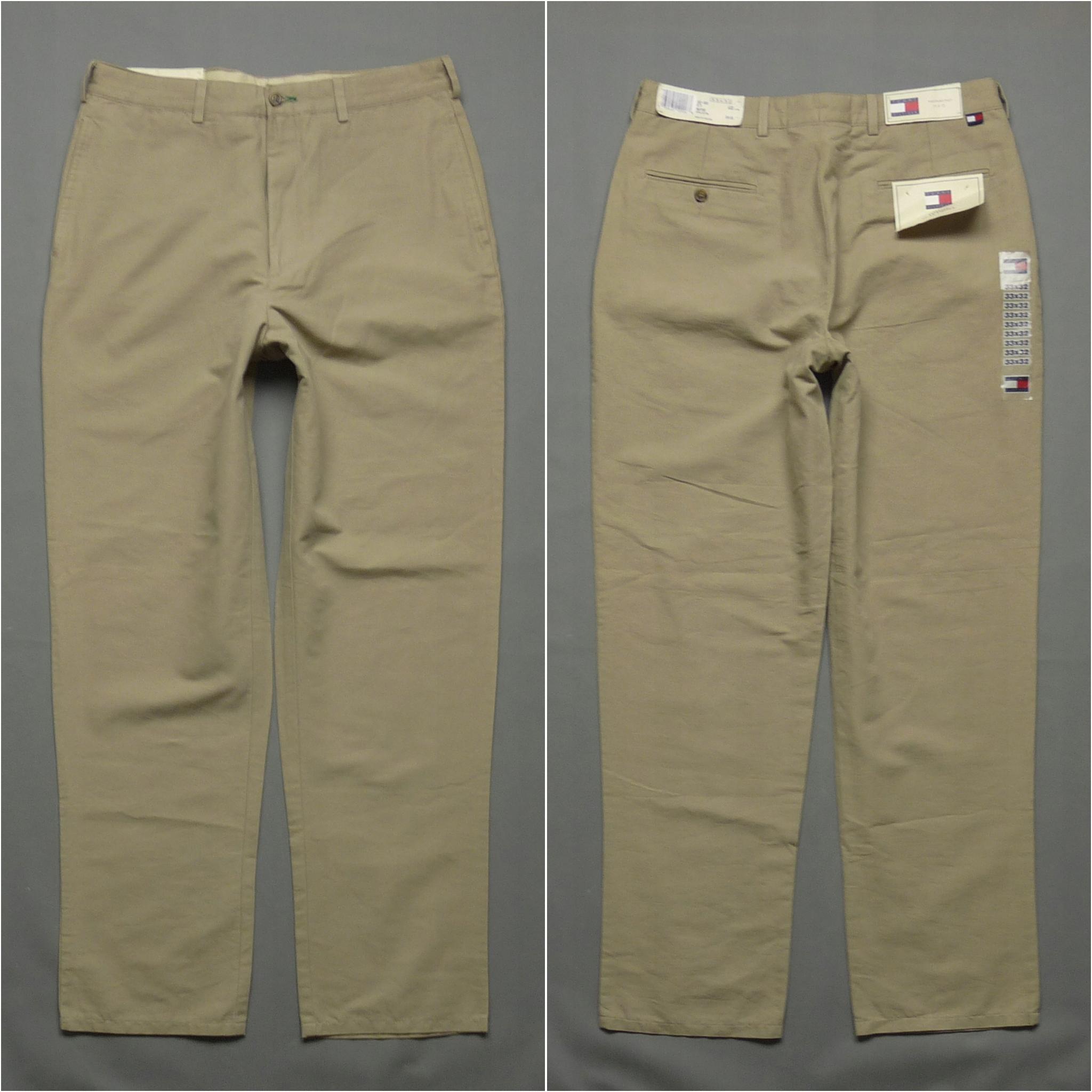 TOMMY HILFIGER nowe spodnie WESTPORT chino W33 L32