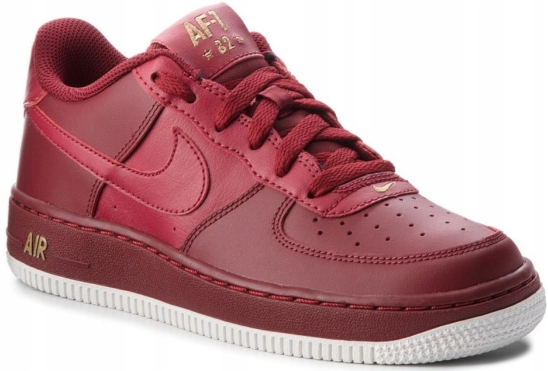 40 BUTY NIKE AIR FORCE 1 GS 314192-613 BORDOWE