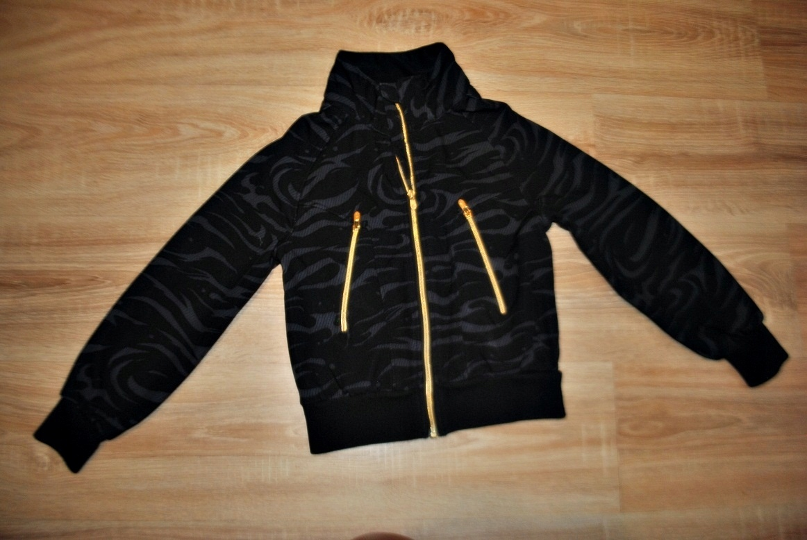 H&M świetna czarna kurtka KOLEKCJA 146 BDB