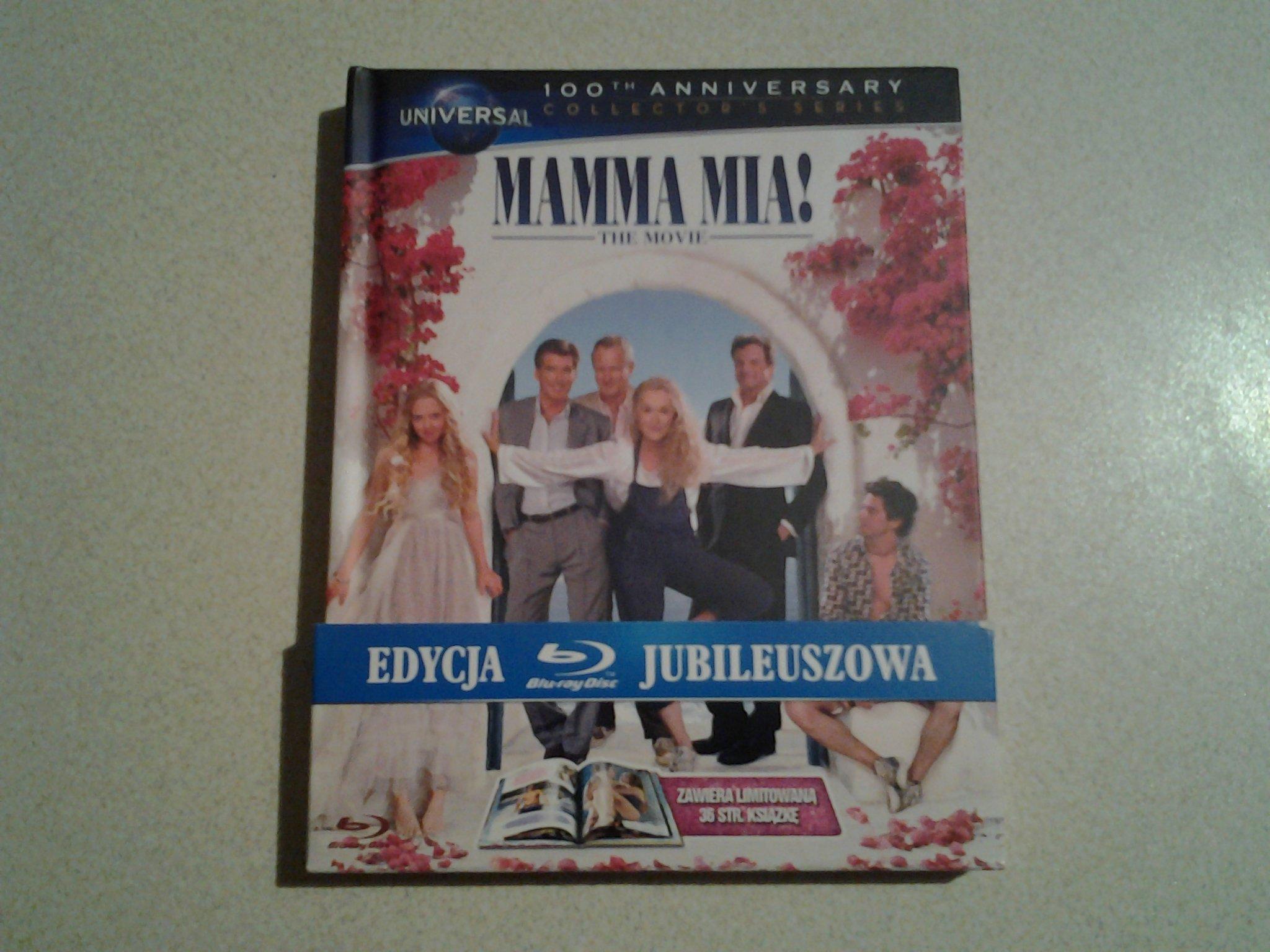 Mamma Mia! (Blu-ray / Digibook)
