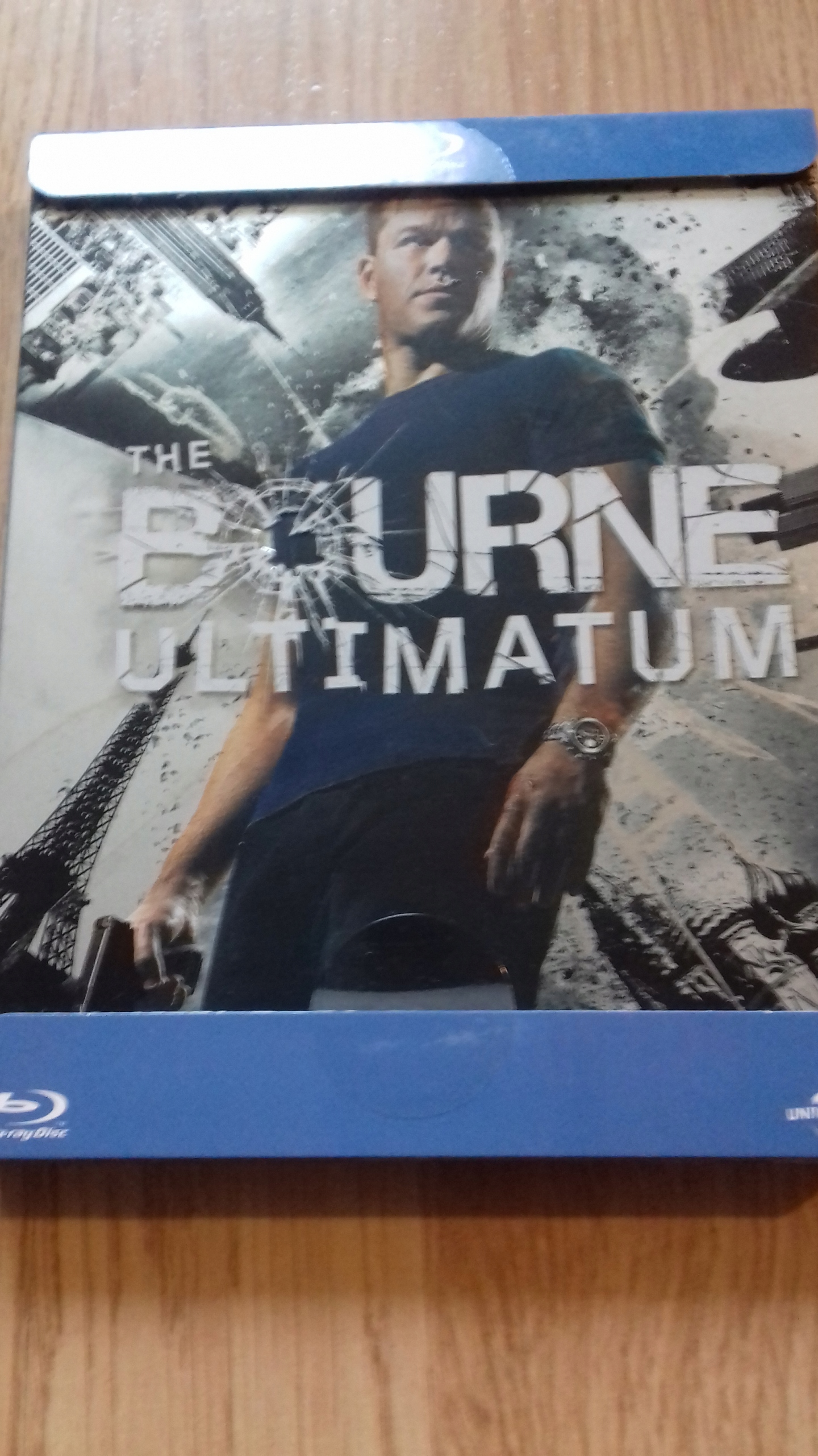 ULTIMATUM BOURNE'A Blu-Ray Steelbook!