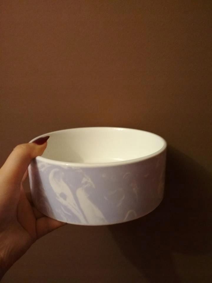 miska dla psa ceramiczna 14 cm x 6 cm