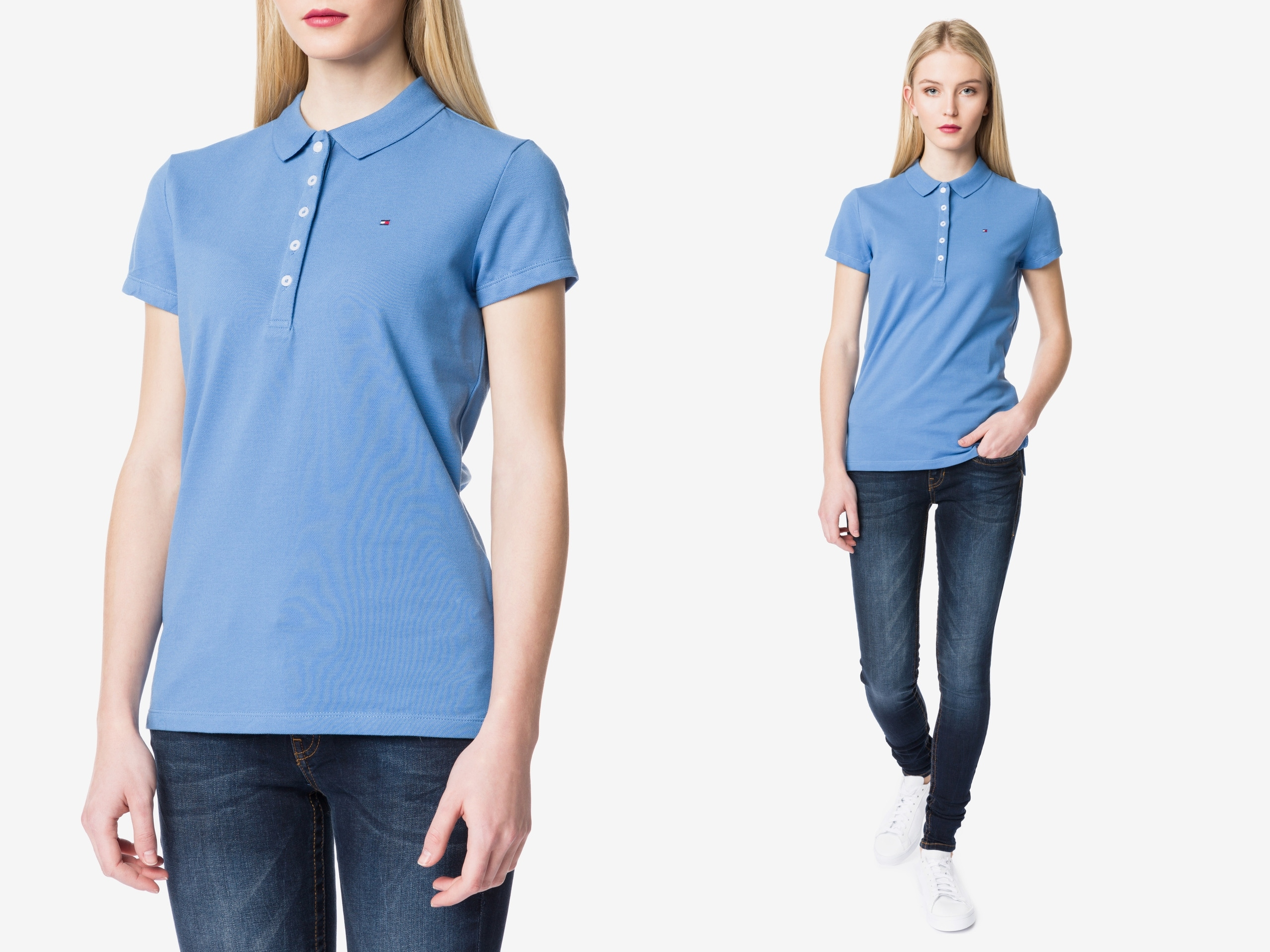 Tommy Hilfiger New Chiara Koszulka Polo Slim fit M