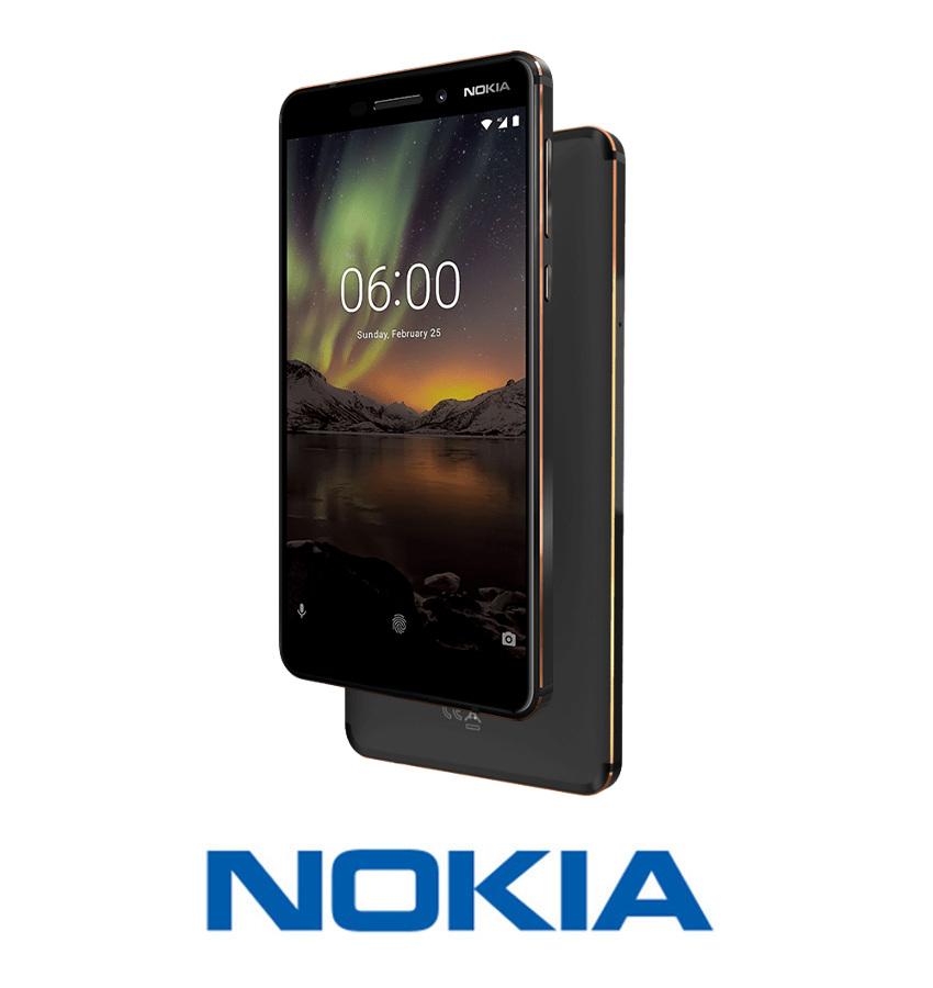 NOWA NOKIA 6.1 (2018) BLACK 3/32GB 16MPX CZARNY