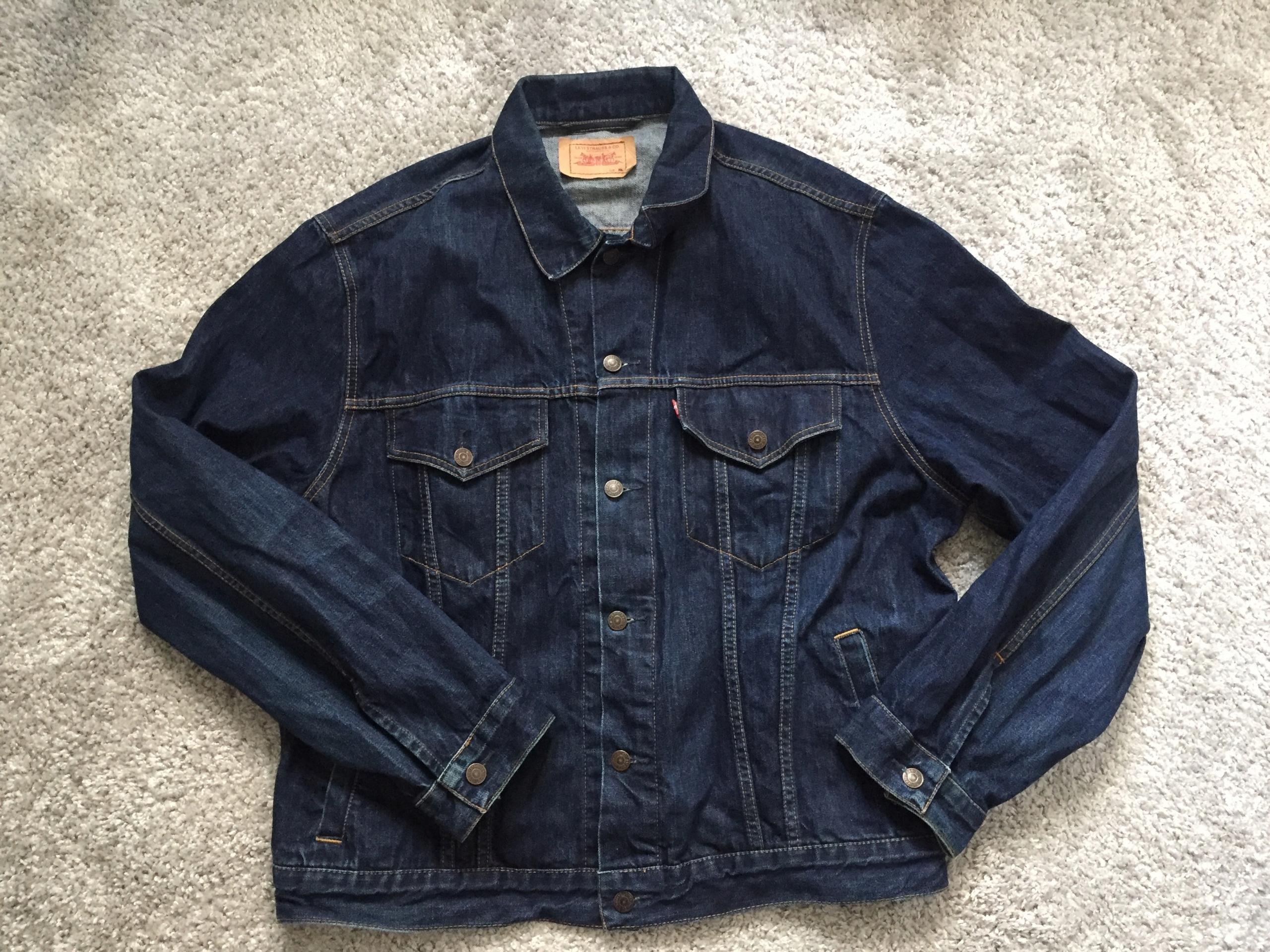 LEVI'S męska kurtka katana bluza jeansowa rozm.XXL