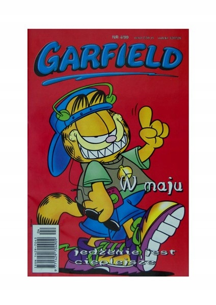 BDB GARFIELD 4/99 1999