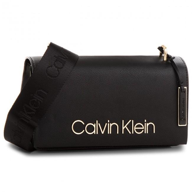 Torba torebka Calvin Klein CK logo candy czarna