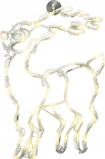 Dekoracja świąteczna Renifer Polarlite LDE-02-007