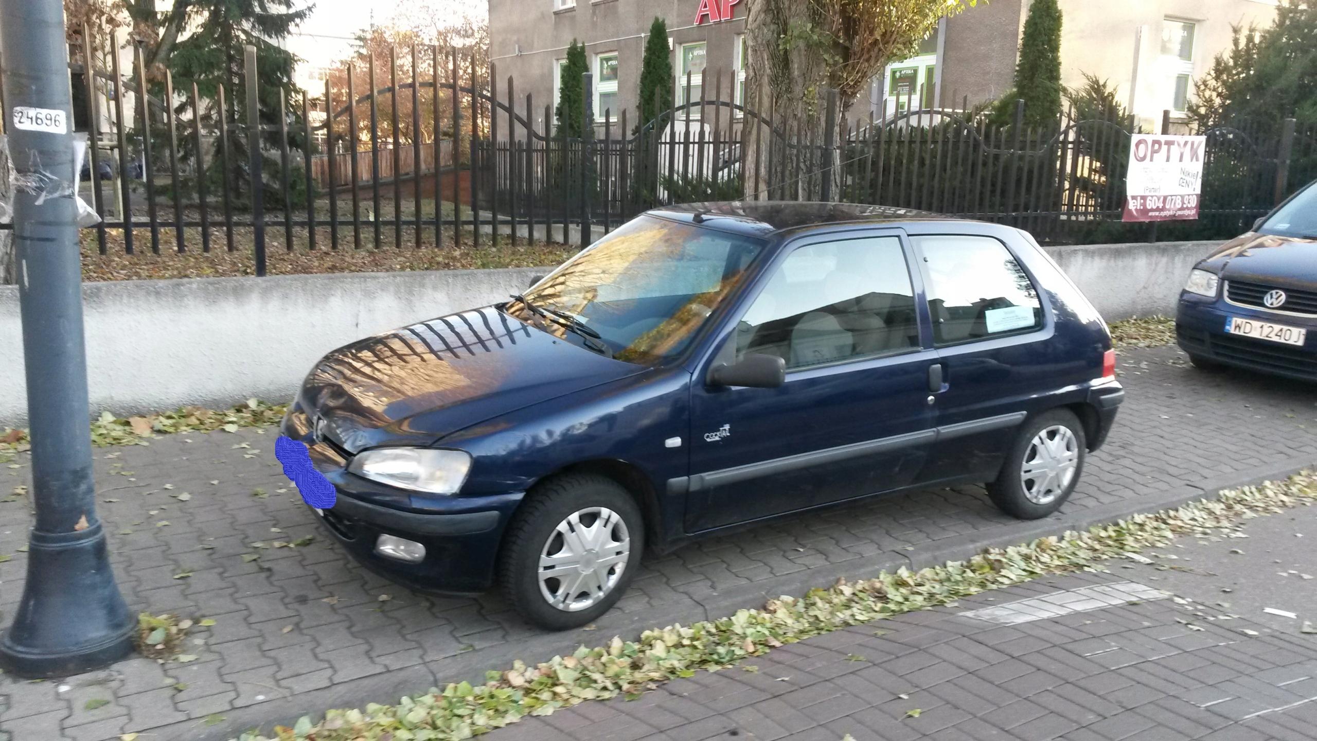 Peugeot 106, przebieg 115 tys, pierwszy właściciel