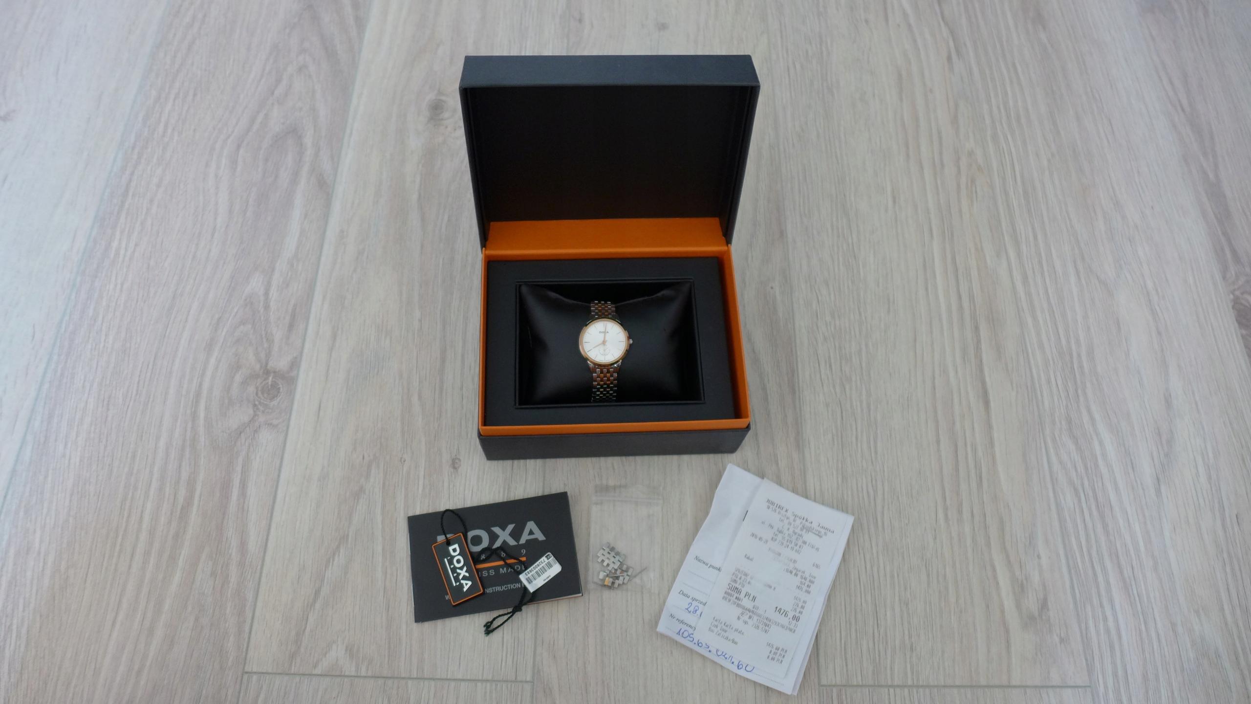 DOXA 105.65.021.60 Slim Line Lady Watch