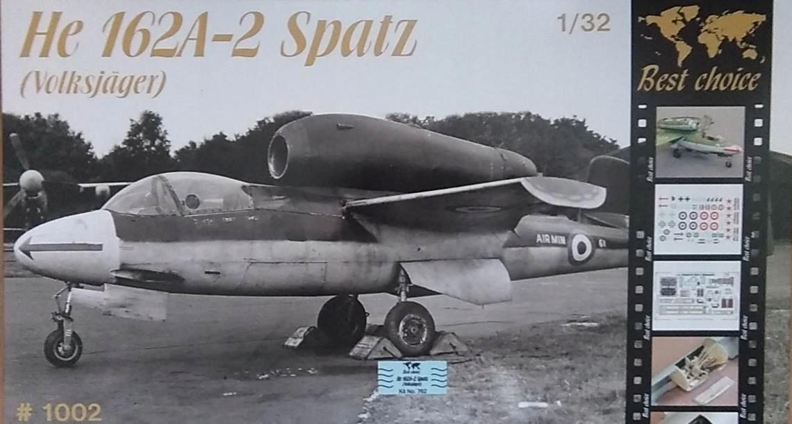 HEINKEL He 162A-2 SPATZ - 1:32 BEST CHOICE MPM