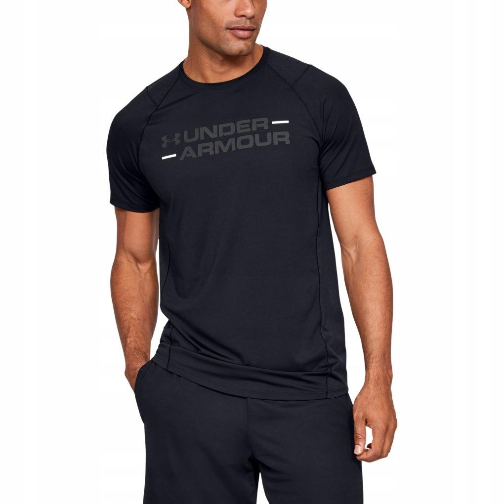 Koszulka męska Under Armour 1327248 XXXL Czarny