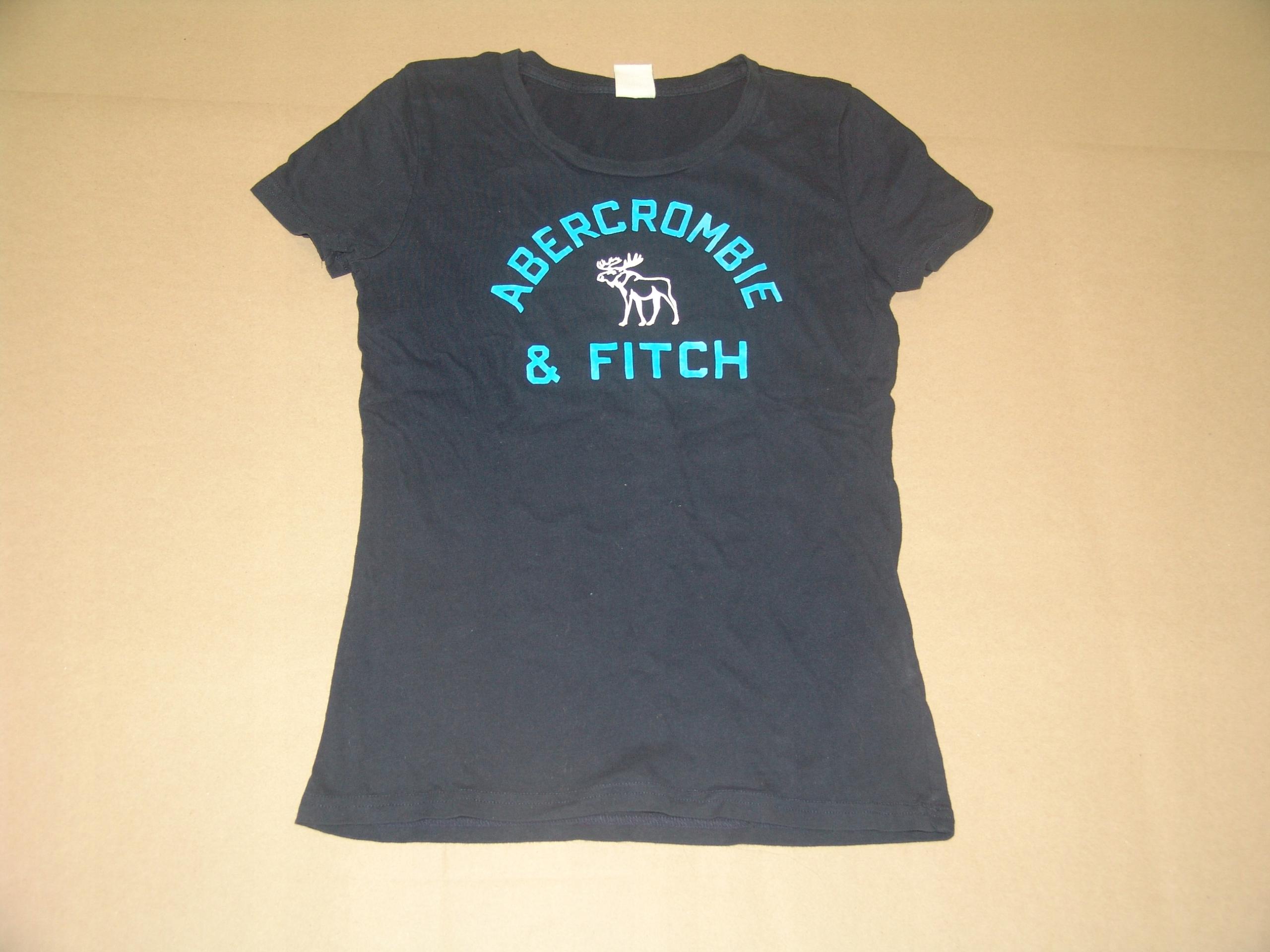 Tanio,jak nowy t-shirt ABERCROMBIE&FITCH r.S/M