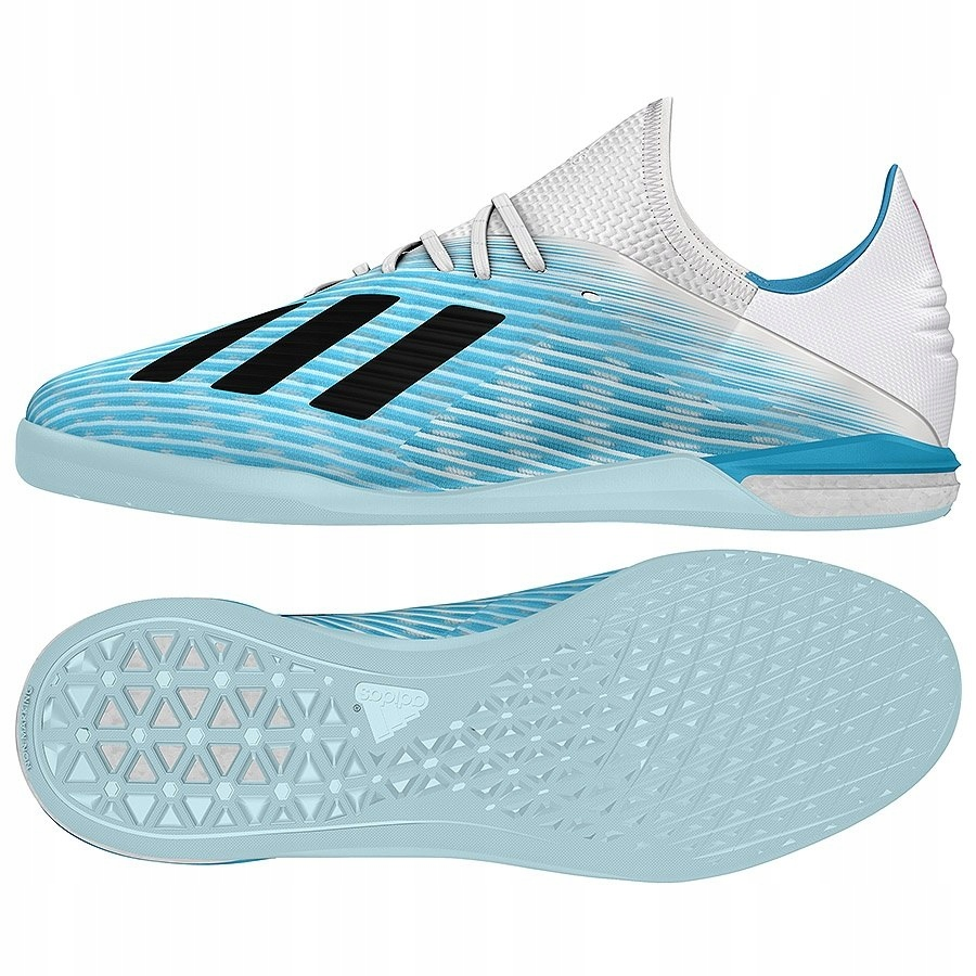 Buty adidas X 19.1 IN G25754 niebieski 44 2/3