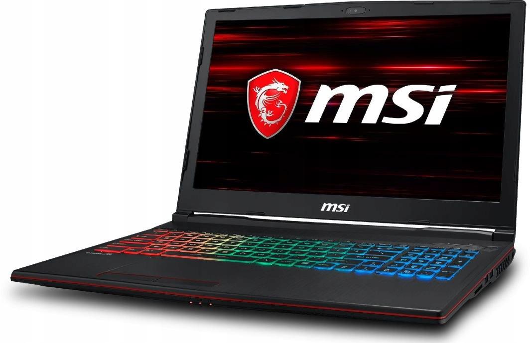 MSI GP63 8RE GTX 1060 i7 16GB SSD256GB+1TB+ Gratis
