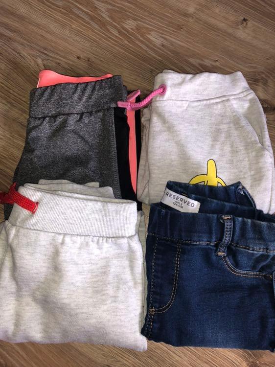 Komplet spodni 4 szt reserved roz.134
