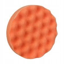 Gąbka polerska BOLL rzep profilowana pomarańczowa