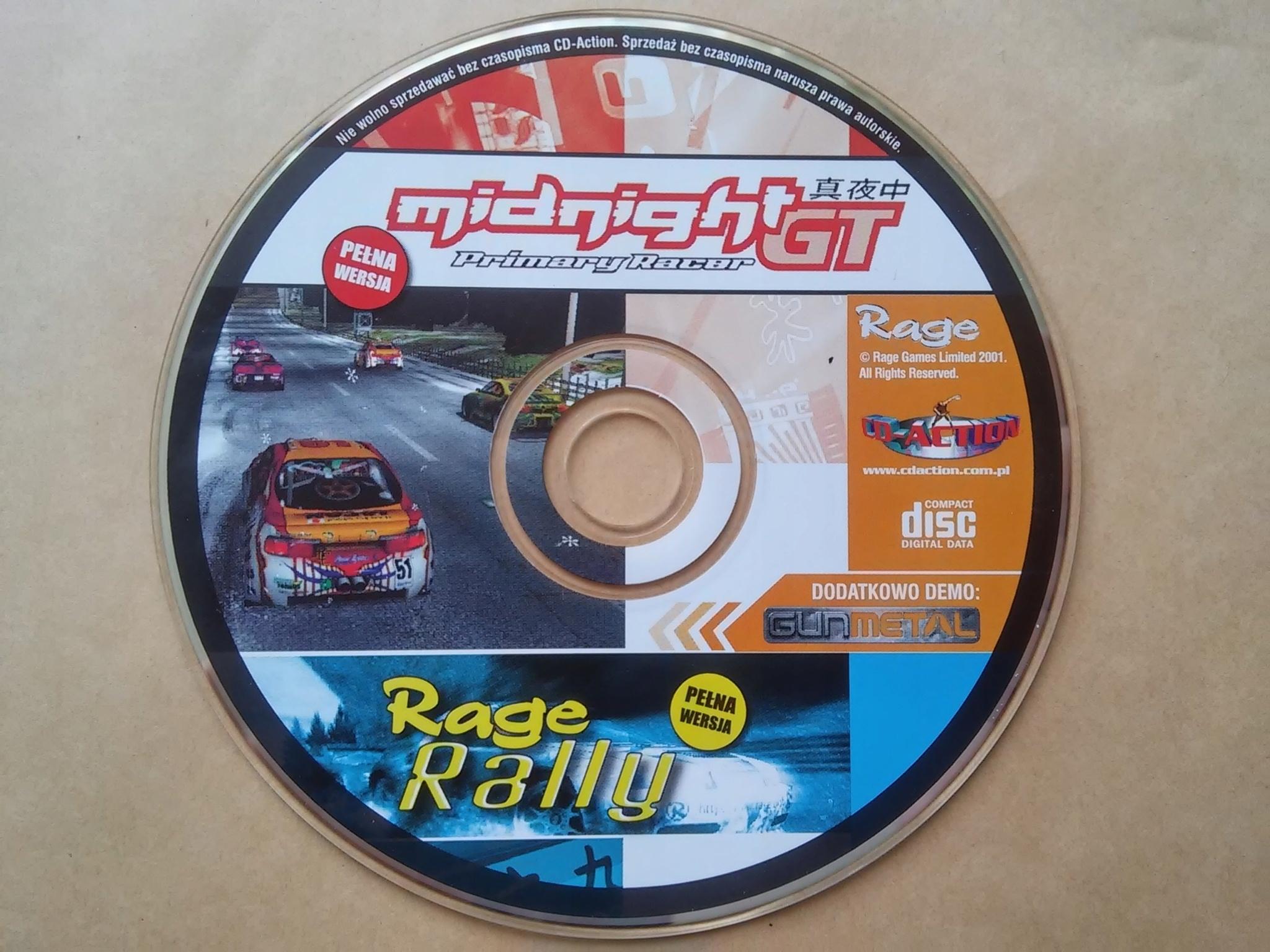 MIDNIGHT PRIMARY RACER GT