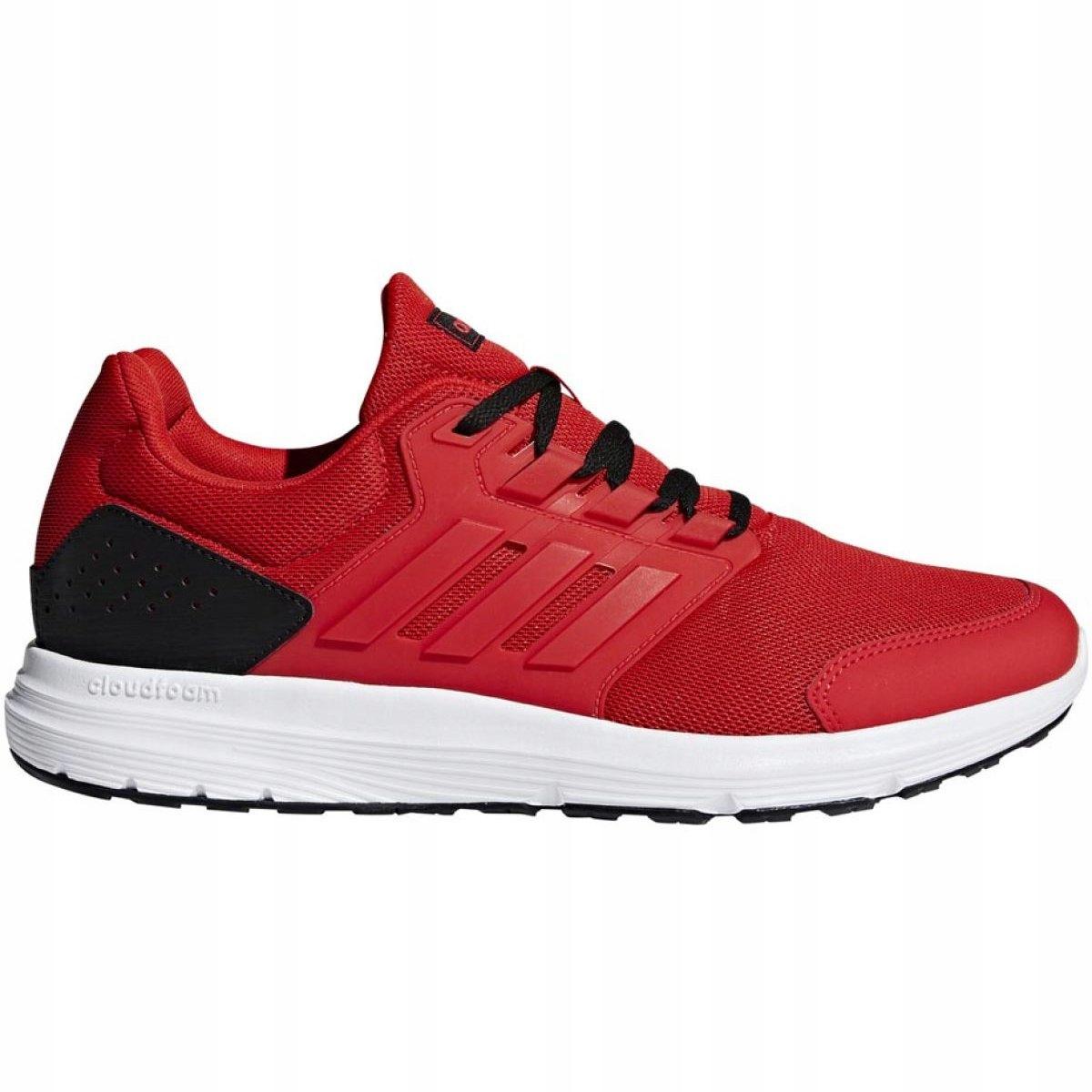 Adidas treningowe bieganie sport czerwone r.46