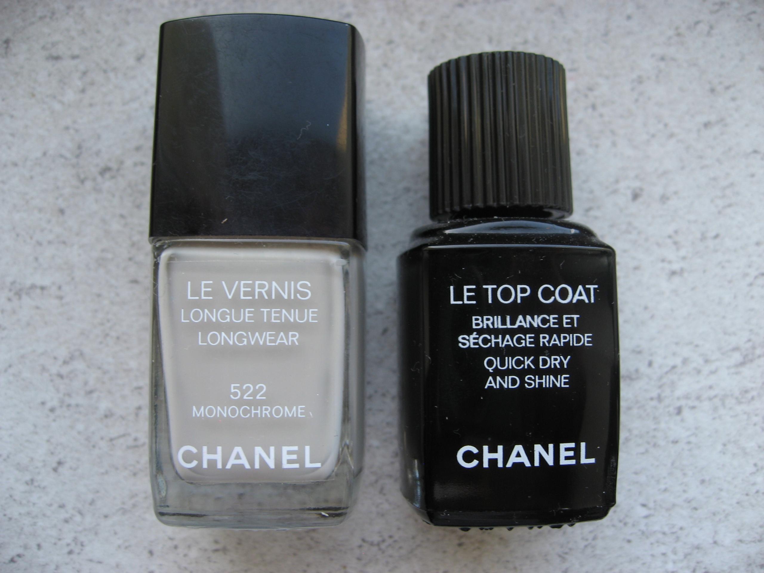 Chanel Le Vernis 522 + Le Top Coat lakiery zestaw