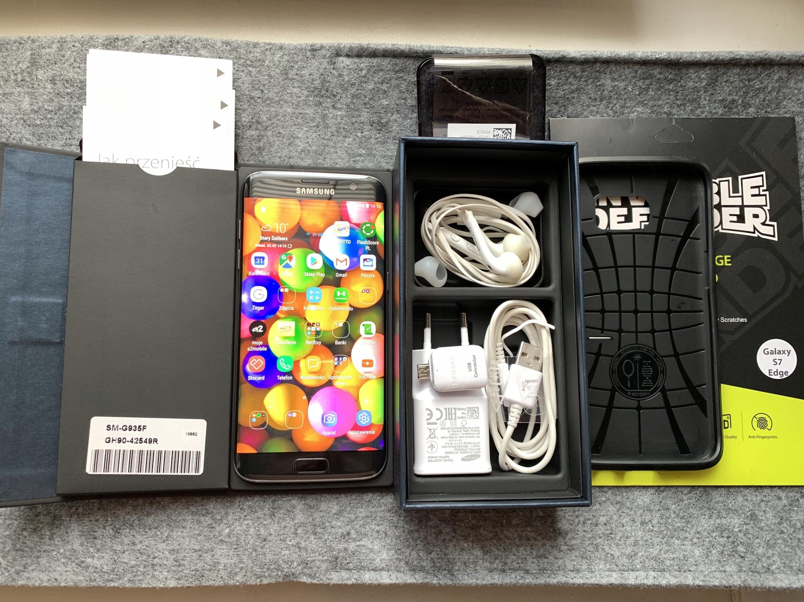 SAMSUNG S7 Edge Black Onyx dystrybucja PL