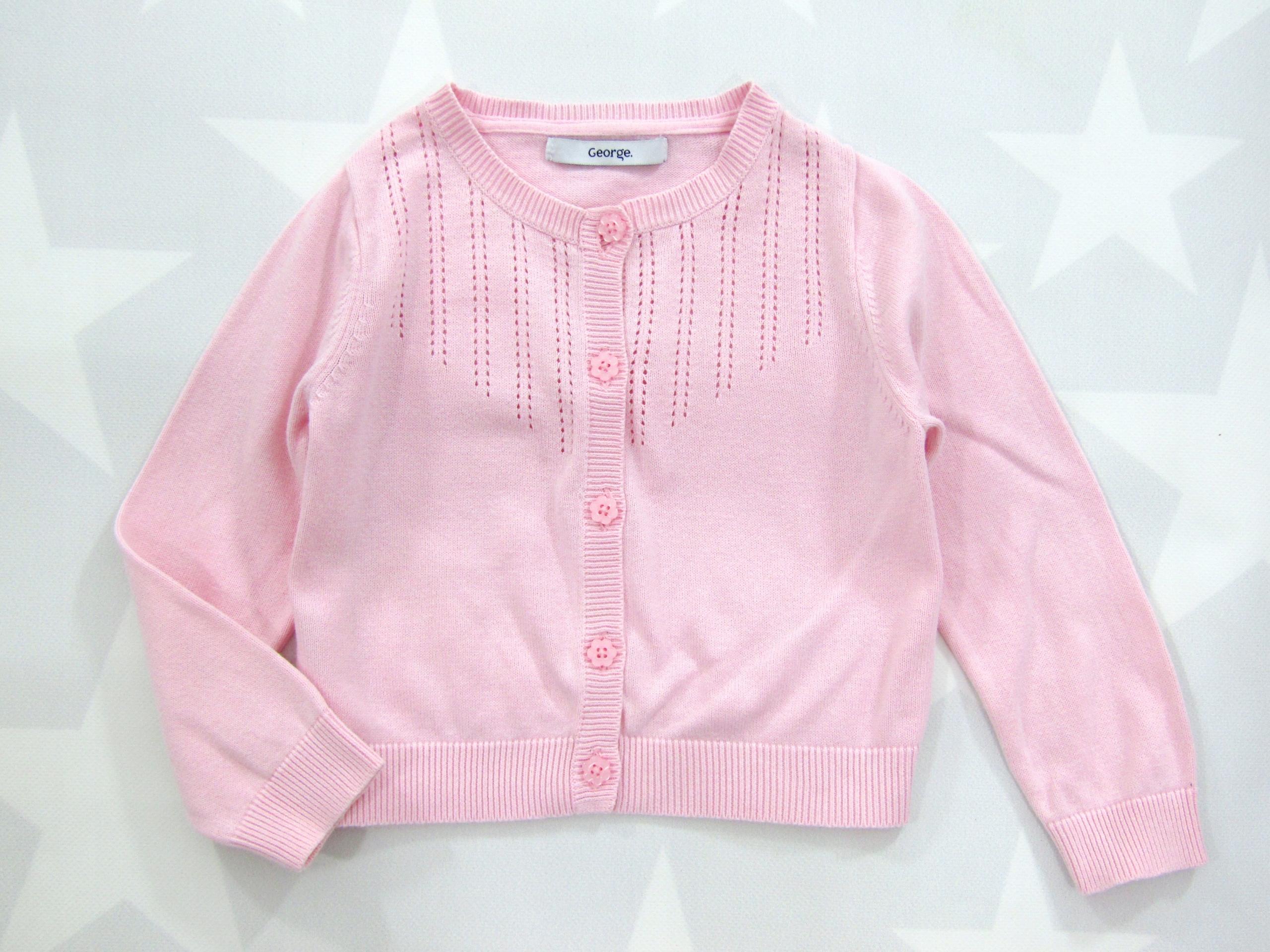 GEORGE _ Ażurowy Sweterek - Idealny rozmiar 98