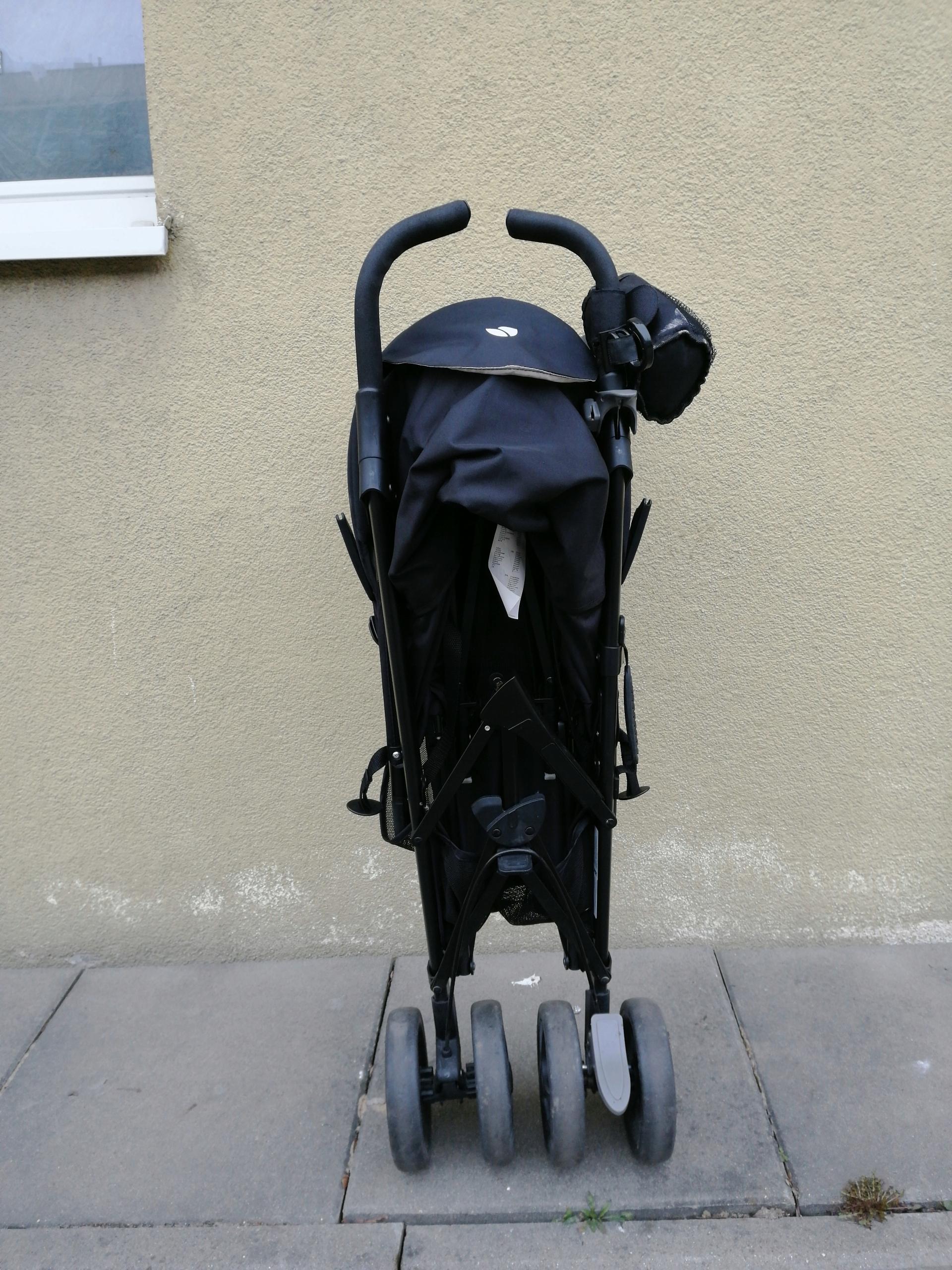 Joie Brisk wózek spacerowy,pakowny, extra śpiworek