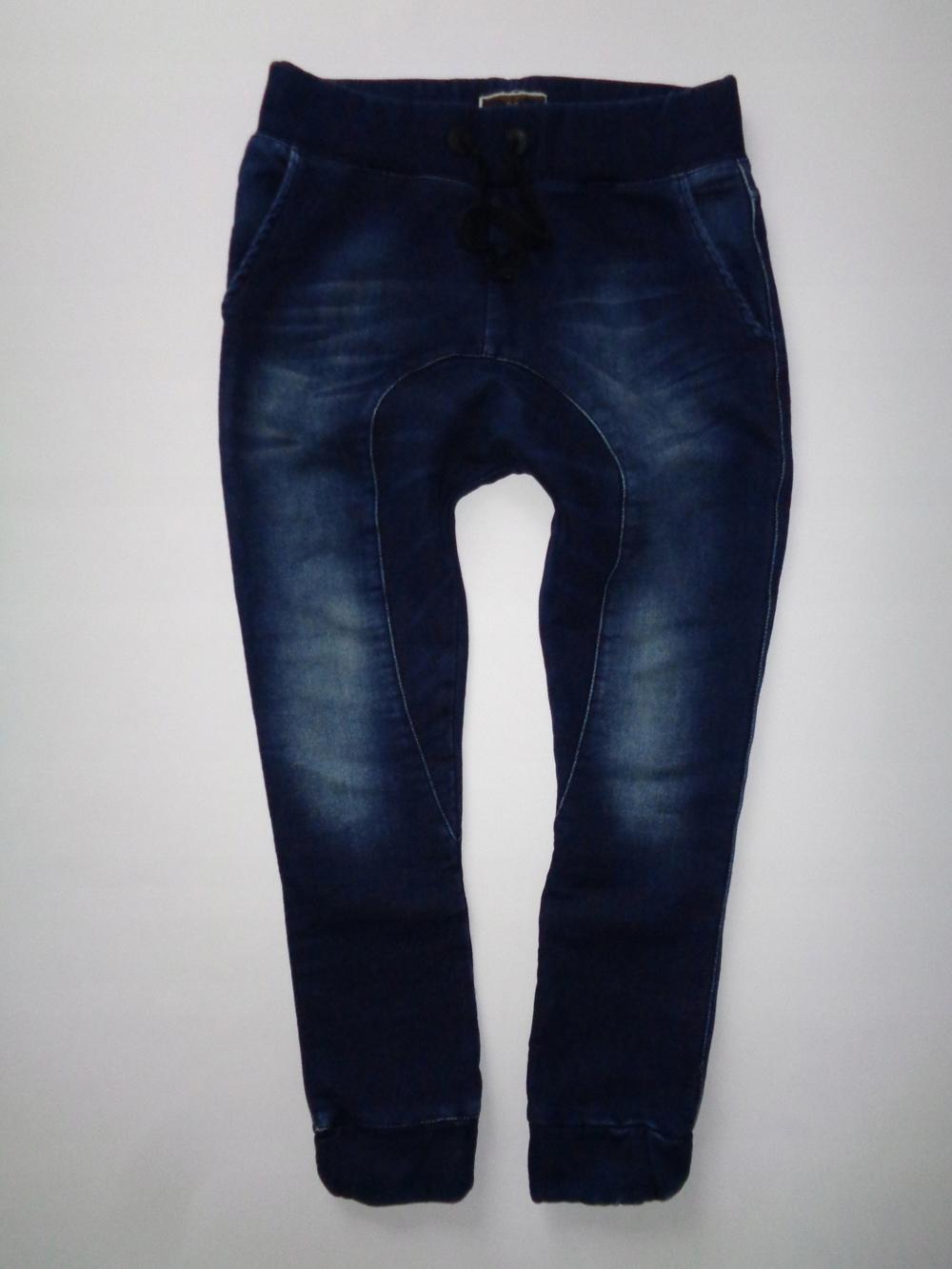 ZARA męskie spodnie joggery baggy jeans roz. L 32