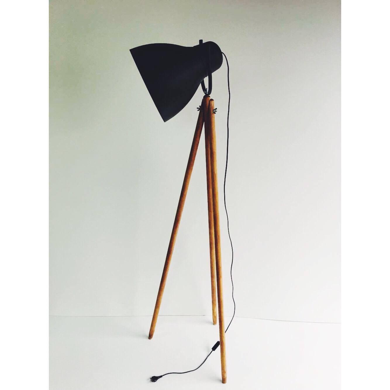 Nowość Lampa Canada podłogowa, stojąca, loft industrialna - 7090988221 ES96