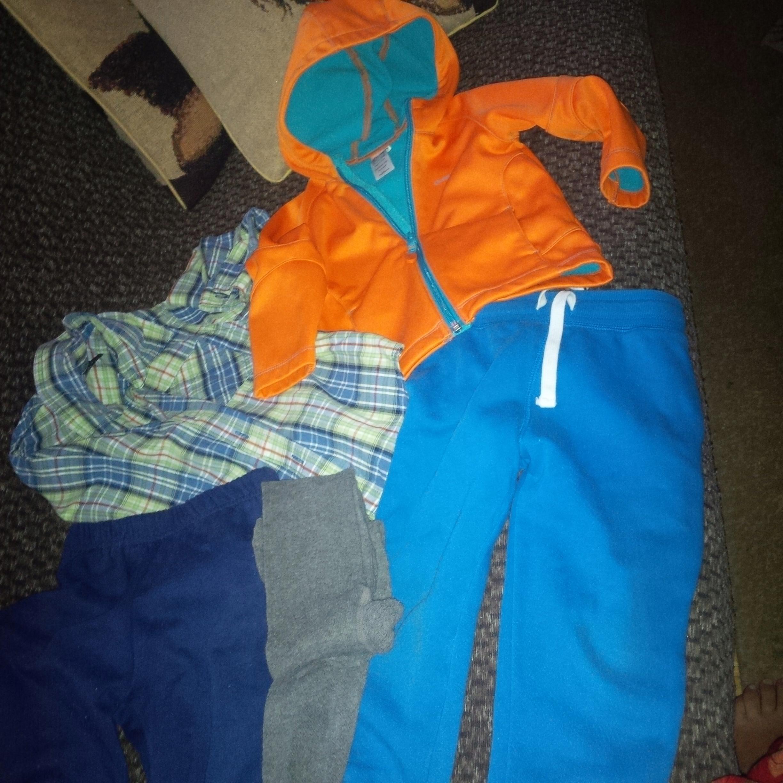 5 sztuk na 2 l 24 m spodnie koszula bluza z Lidla
