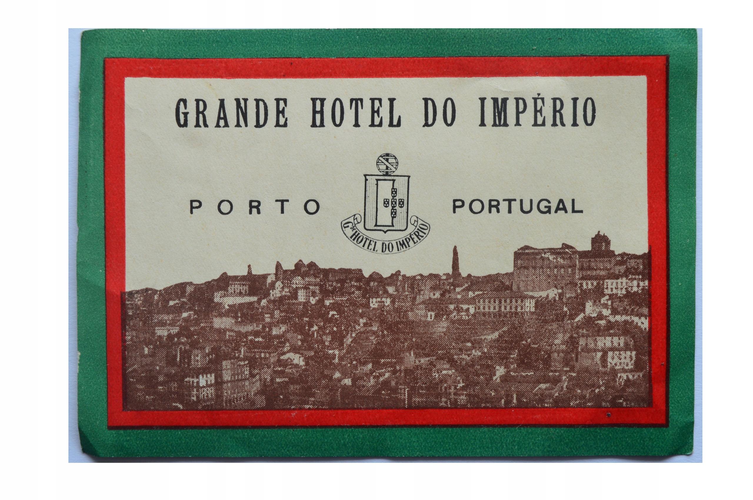 GRANDE HOTEL DO IMPERIO-PORTO-ULOTKA