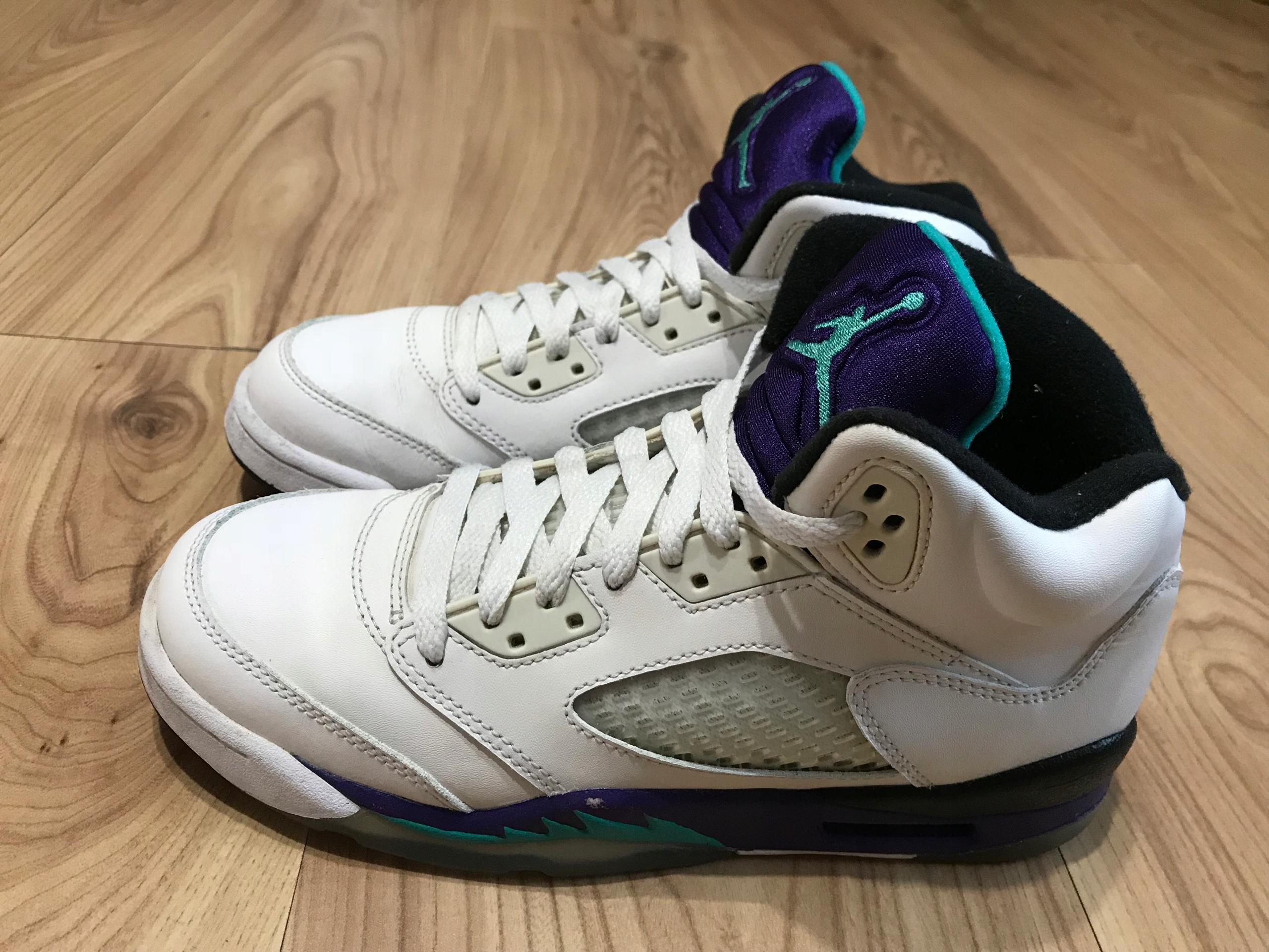 szczegółowe zdjęcia buty na codzień 50% zniżki Buty Air Jordan 5 Retro skóra 38 24cm Nike wysokie