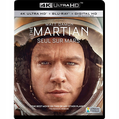 THE MARTIAN / MARSJANIN 4K UHD HDR English BR
