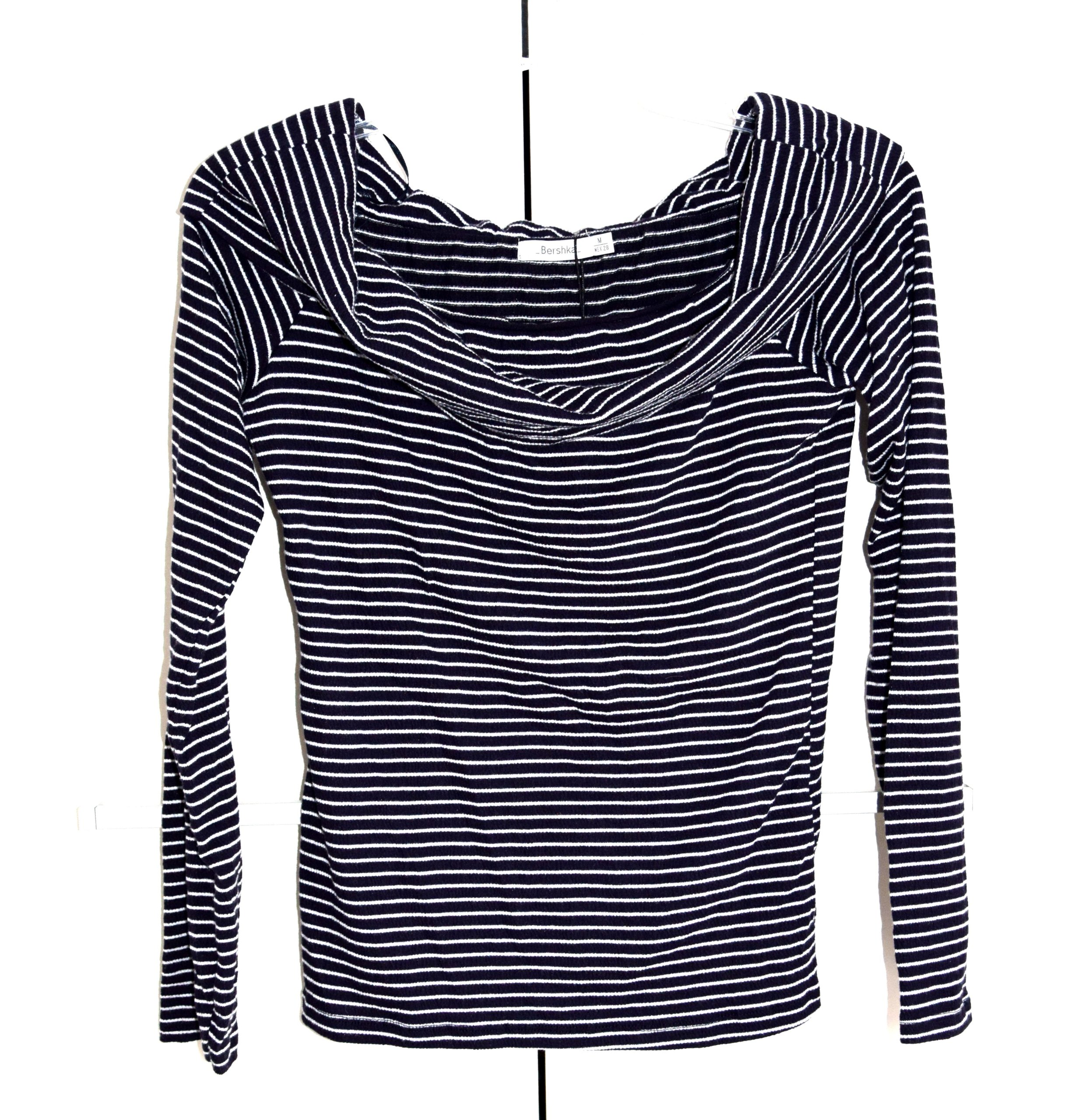 BERSHKA__modny DOPASOWANY GOLF sweter__ 38 M